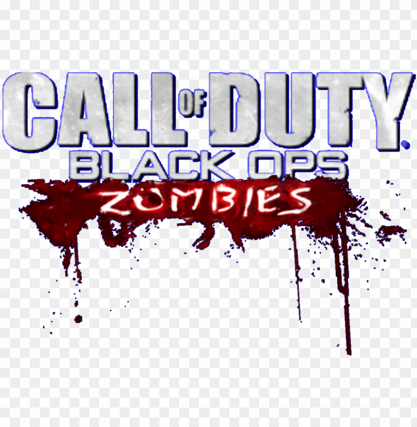 Black Ops 2 Zombies Logo Png Call Of Duty Zombies Logo Png Image