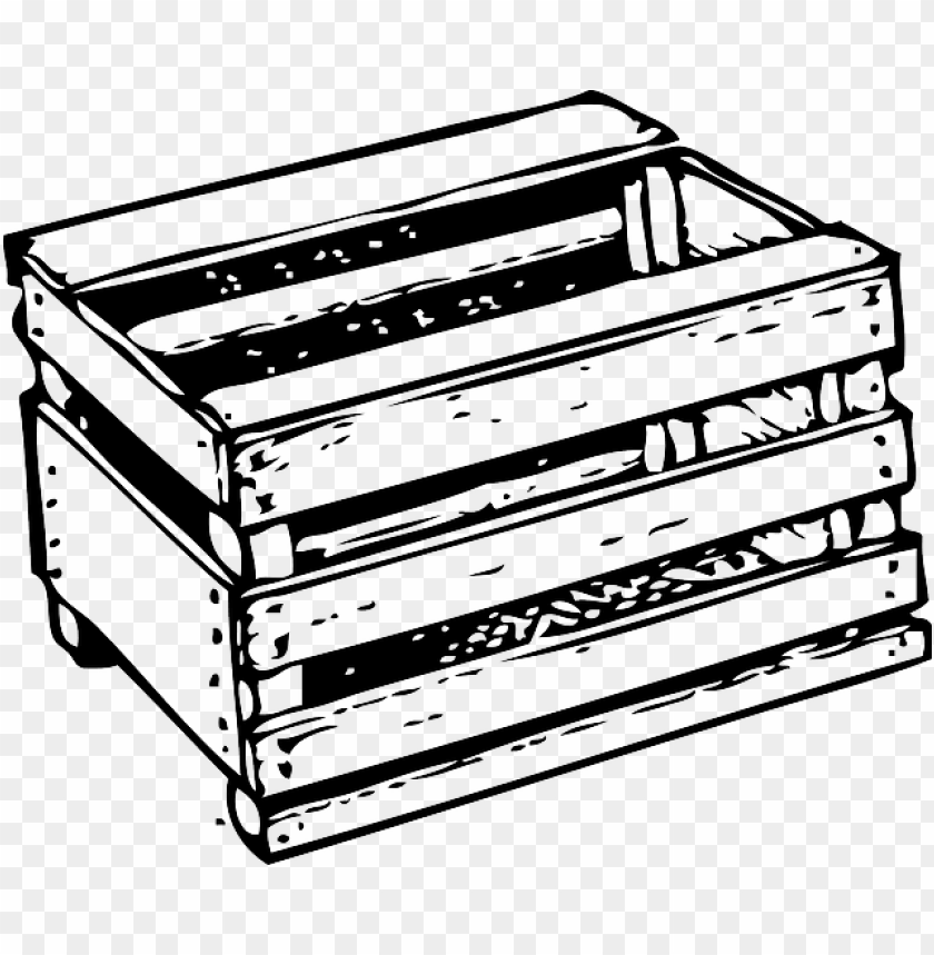 free PNG black, outline, white, tomato, crate, tomatoes, crates - clip art crate PNG image with transparent background PNG images transparent