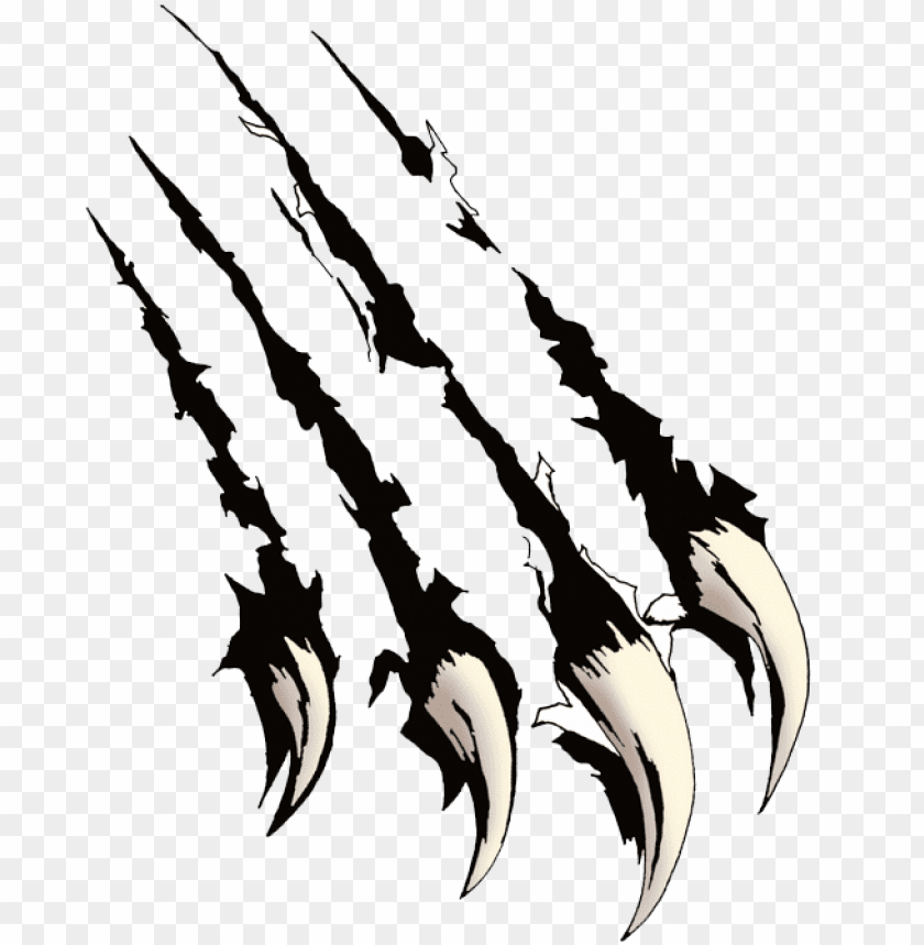 Black Panther Claw Marks Png Image With Transparent Background Toppng