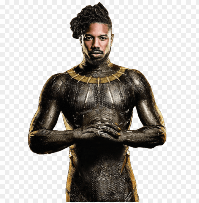 free PNG black panther erik killmonger 3 by sidewinder16-dc35rn2 - black panther erik killmonger PNG image with transparent background PNG images transparent