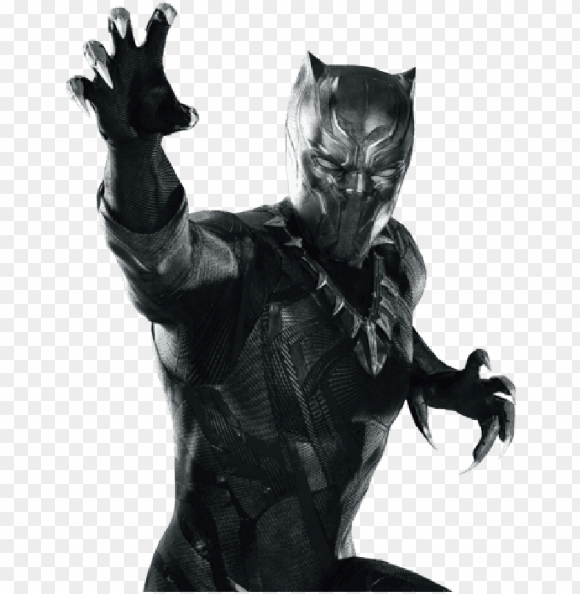 black panther png by monsterdani-d9jnu53 - black panther png marvel PNG image with transparent background@toppng.com
