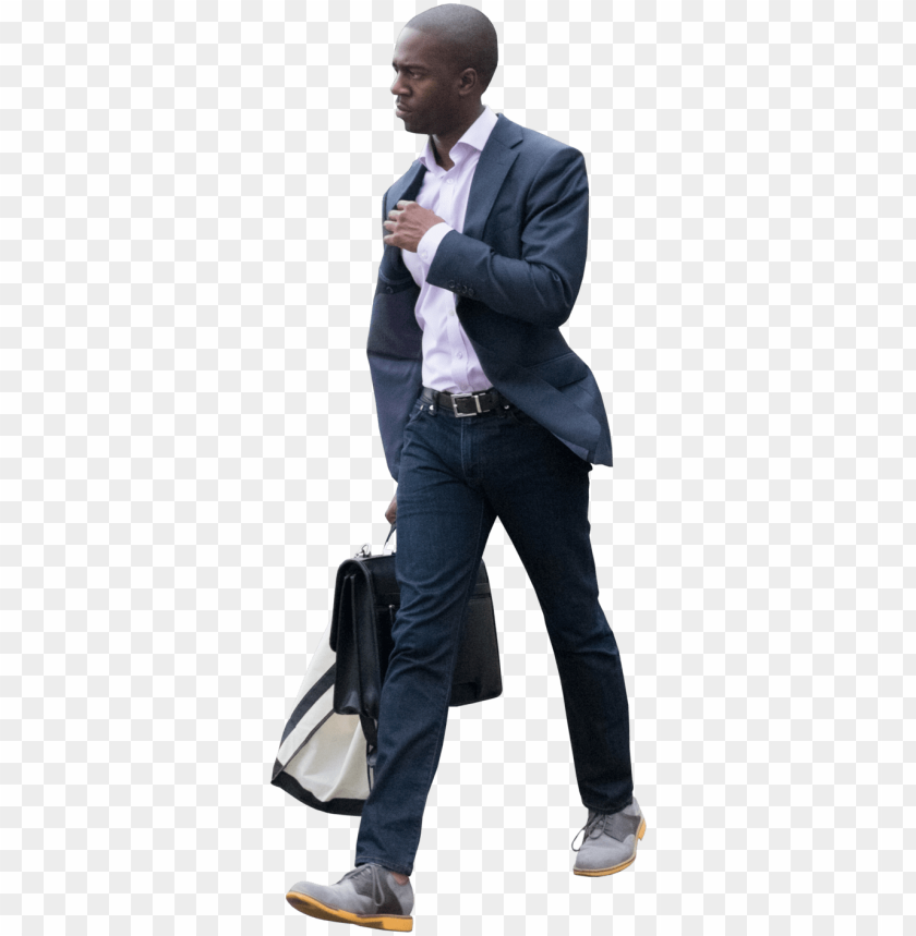 black people walking png jpg black and white stock - business people walking PNG image with transparent background@toppng.com