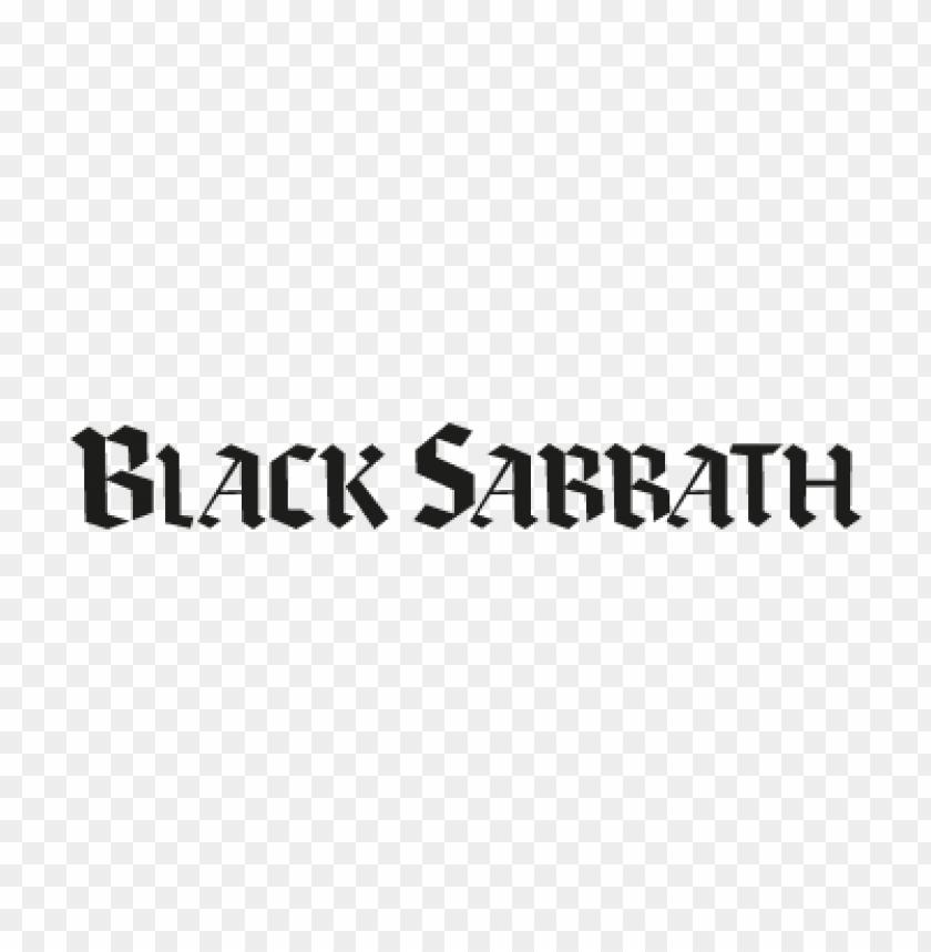 free PNG black sabbath black vector logo PNG images transparent
