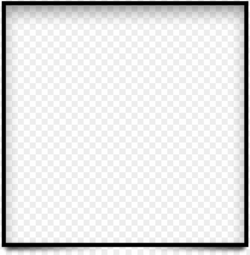 free PNG black square border png - black square border PNG image with transparent background PNG images transparent