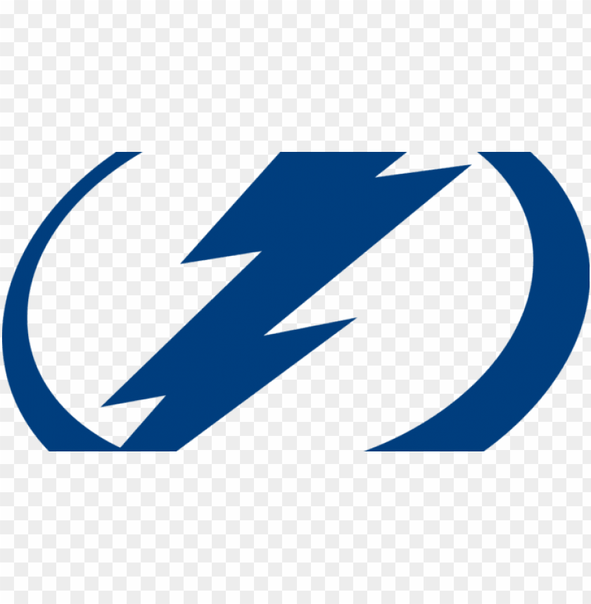 Black Tampa Bay Lightning Logo Png Image With Transparent Background Toppng