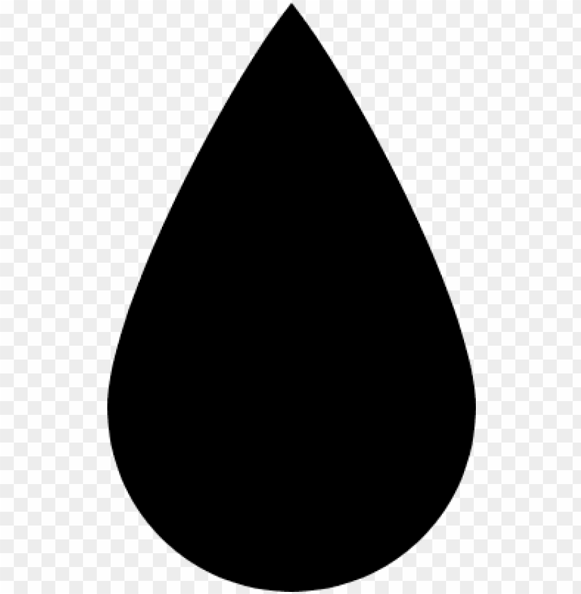 Tear Drop Shape Clipart: Water Drop Ico PNG Image With