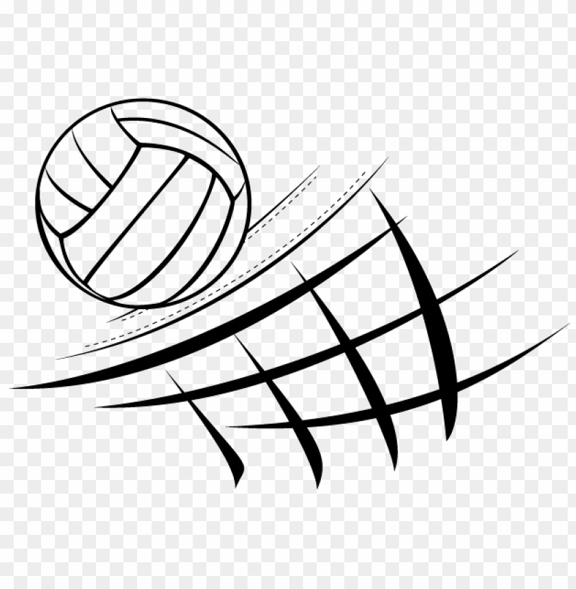 Black Volleyball Png Image Volleyball And Net Clip Art Png Image With Transparent Background Toppng