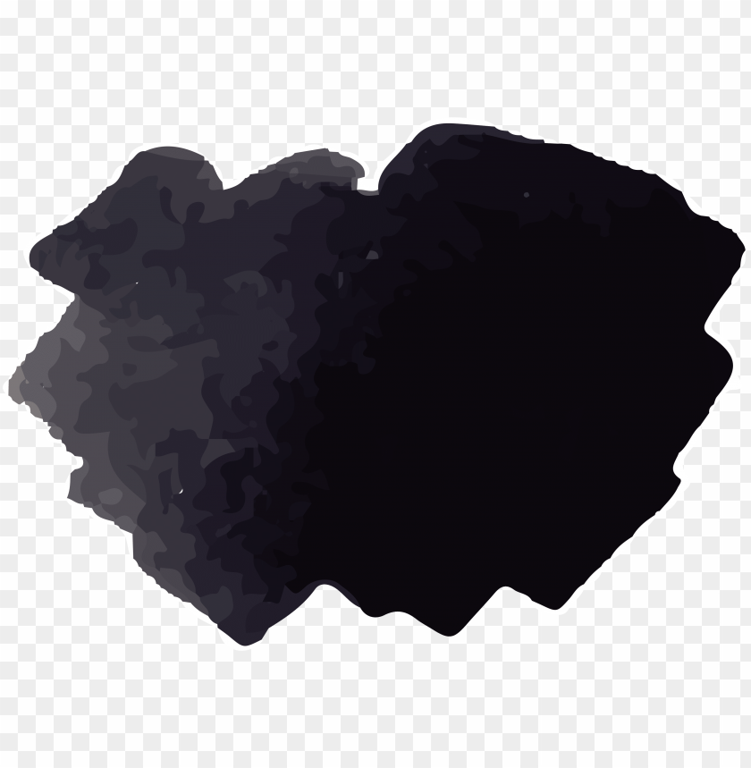 free PNG black watercolor png clipart black and white stock - black watercolor PNG image with transparent background PNG images transparent