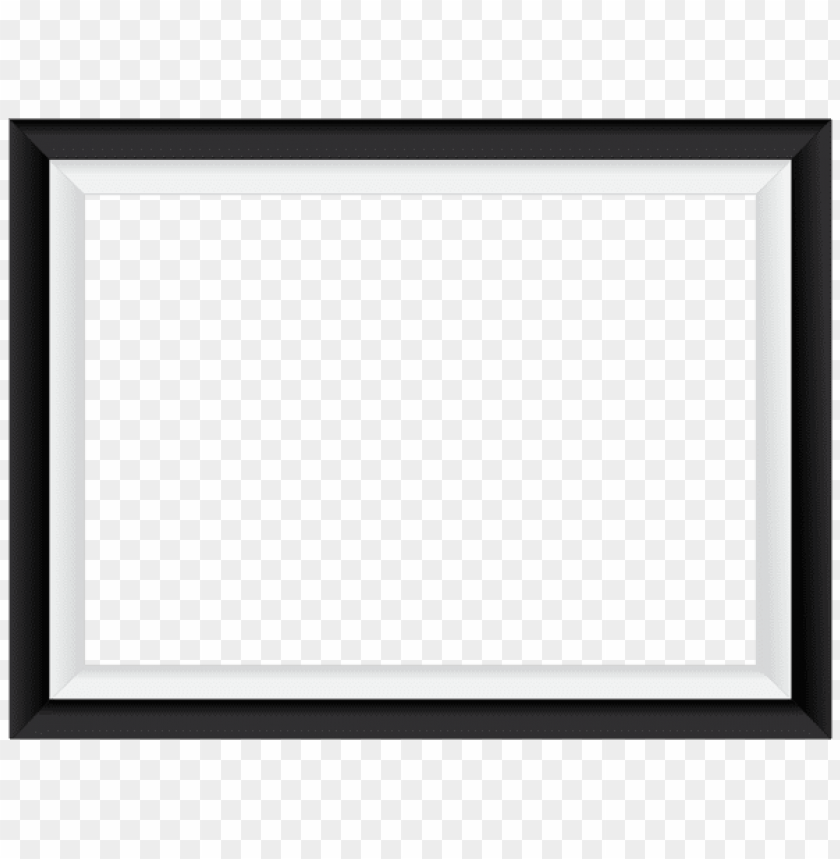 Download Black White Border Frame Clipart Png Photo Toppng