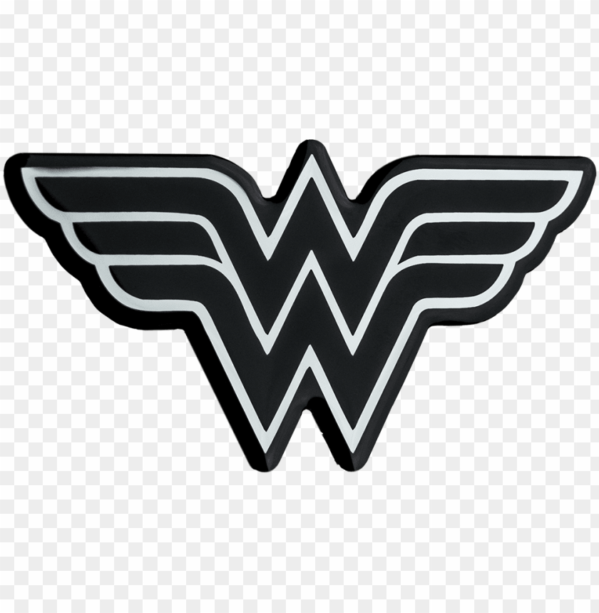 Black Wonder Woman Logo Png Image With Transparent Background Toppng