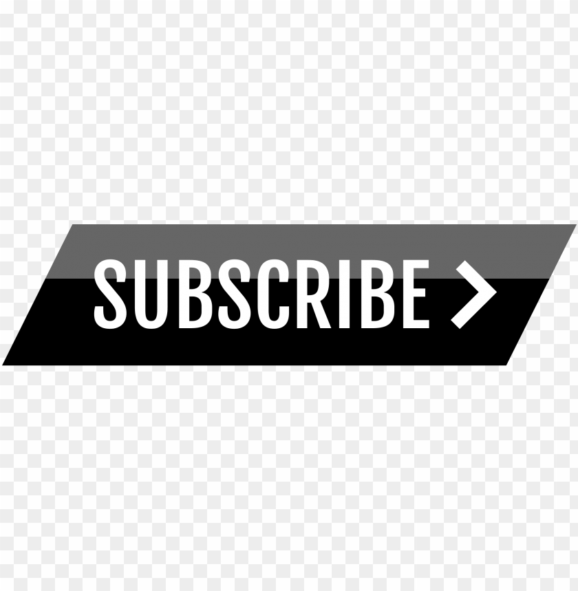 free PNG black youtube subscribe button PNG image with transparent background PNG images transparent