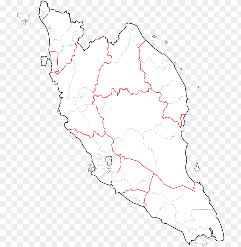 free PNG blank map of peninsular malaysia PNG image with transparent background PNG images transparent