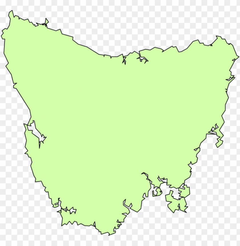 free PNG blank map of tassie PNG image with transparent background PNG images transparent