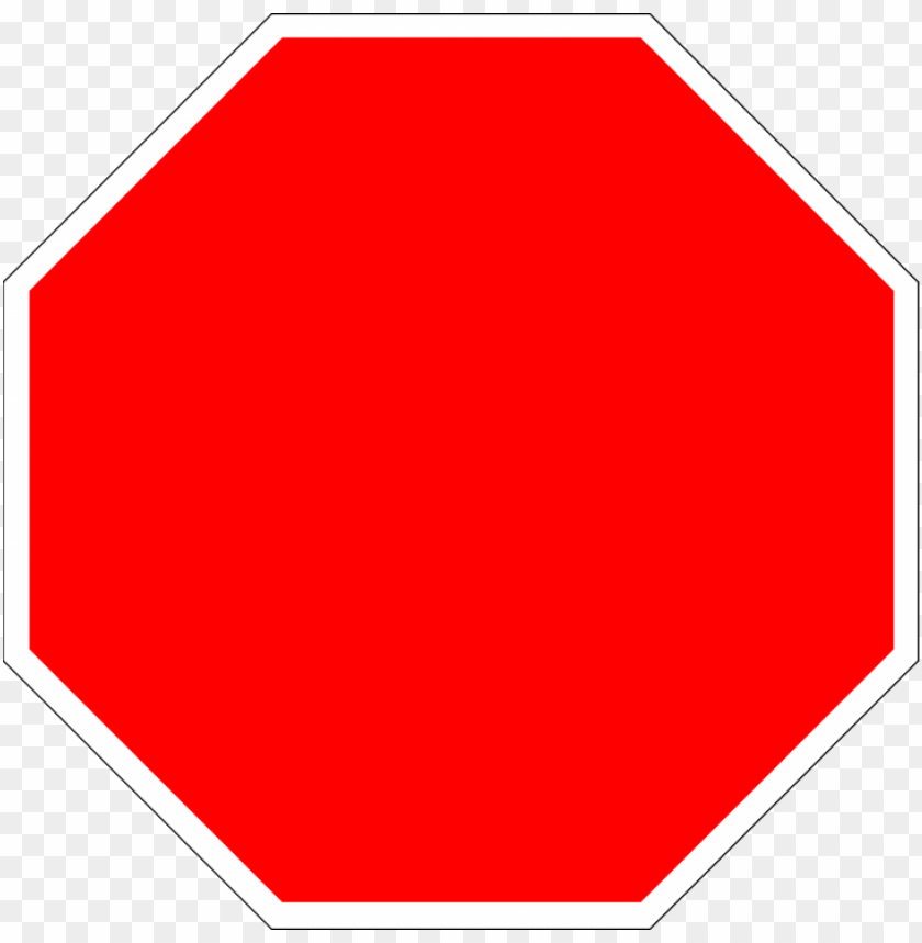 free PNG blank stop sign octagon - stop sign without sto PNG image with transparent background PNG images transparent