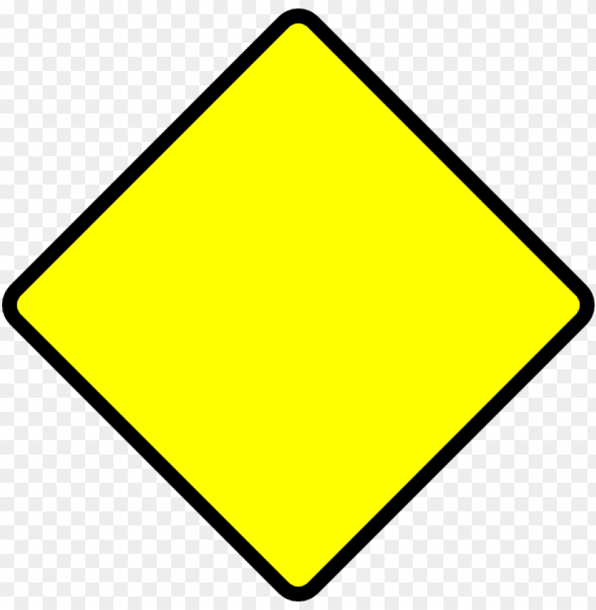 free PNG blank street signs - blank yellow street si PNG image with transparent background PNG images transparent