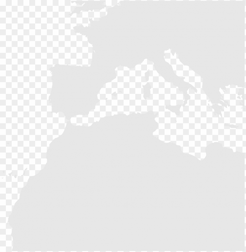 blankmap southwest europe nord africa - blank map of africa ...