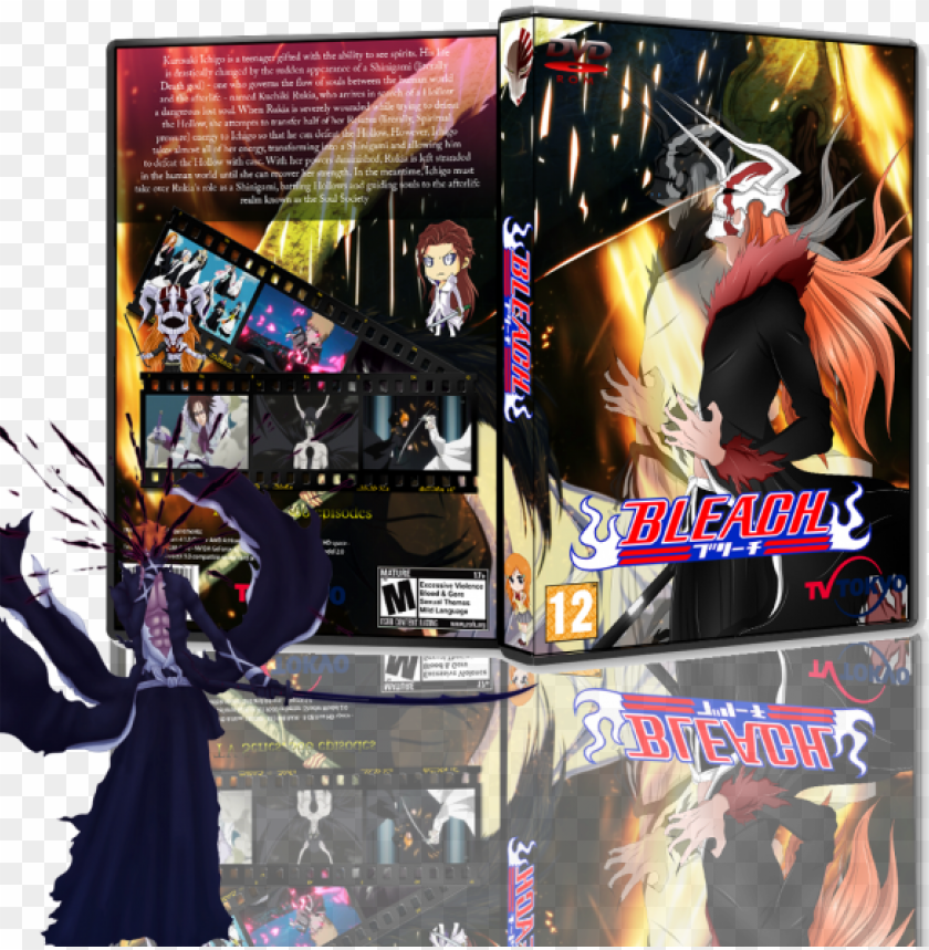 free PNG bleach box art cover - bleach: memories of nobody (2006) PNG image with transparent background PNG images transparent