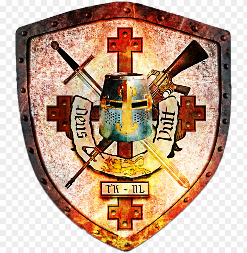bleed area may not be visible - knights templar crest PNG image with transparent background@toppng.com