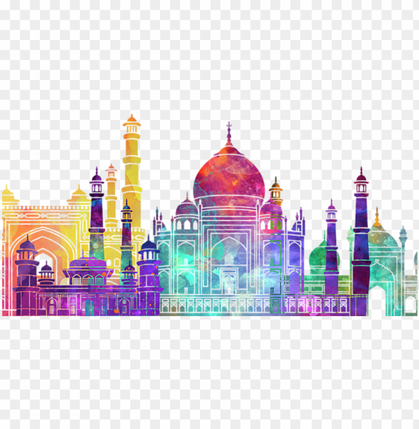 free PNG bleed area may not be visible - mosque watercollor PNG image with transparent background PNG images transparent
