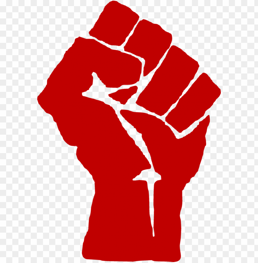 free PNG blm fist red PNG image with transparent background PNG images transparent