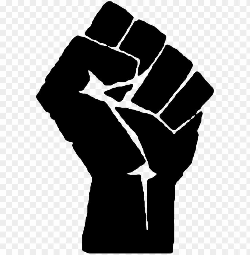 free PNG blm fist black PNG image with transparent background PNG images transparent