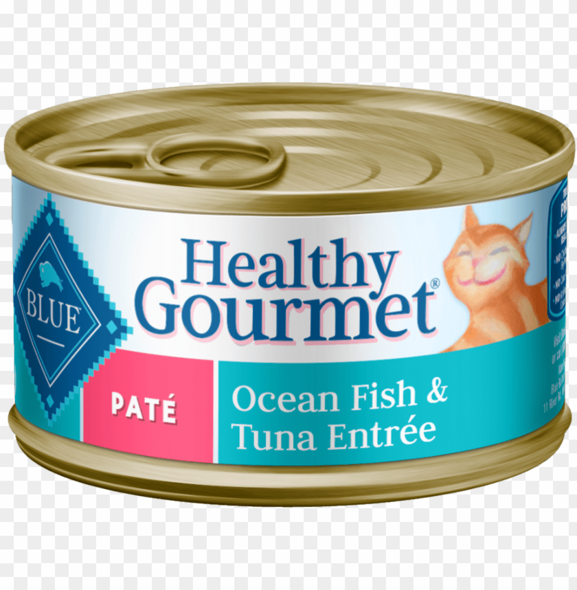 free PNG blue buffalo blue healthy gourmet adult ocean fish - blue healthy gourmet patè indoor chicke PNG image with transparent background PNG images transparent