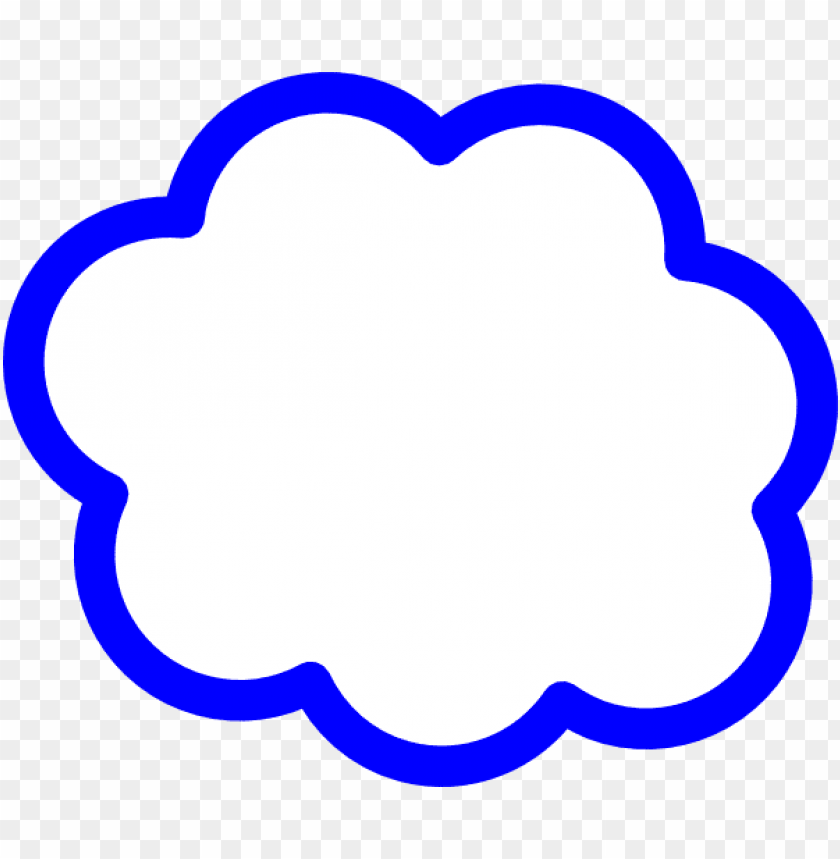 free PNG blue cloud clip art at clker - cloud clip art PNG image with transparent background PNG images transparent