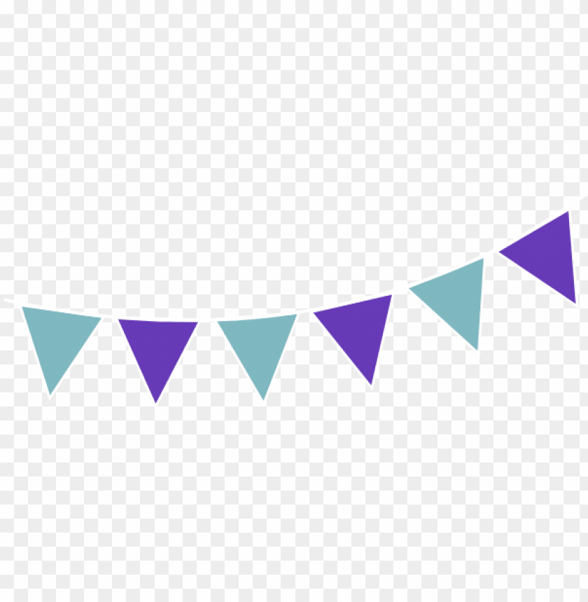 free PNG blue deep purple bunting clip art at clker - blue and purple bunti PNG image with transparent background PNG images transparent