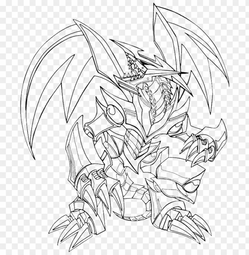 Blue Eyes Ultimate Dragon Coloring Pages Png Image With Transparent Background Toppng