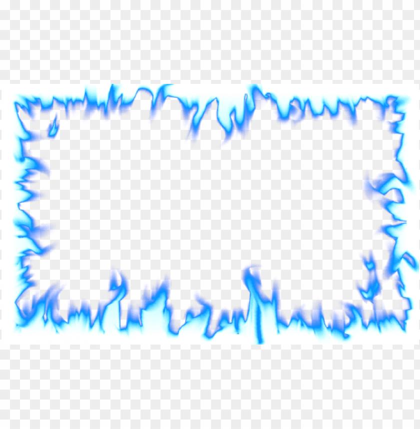 free PNG blue flames png transparent - transparent fire border PNG image with transparent background PNG images transparent