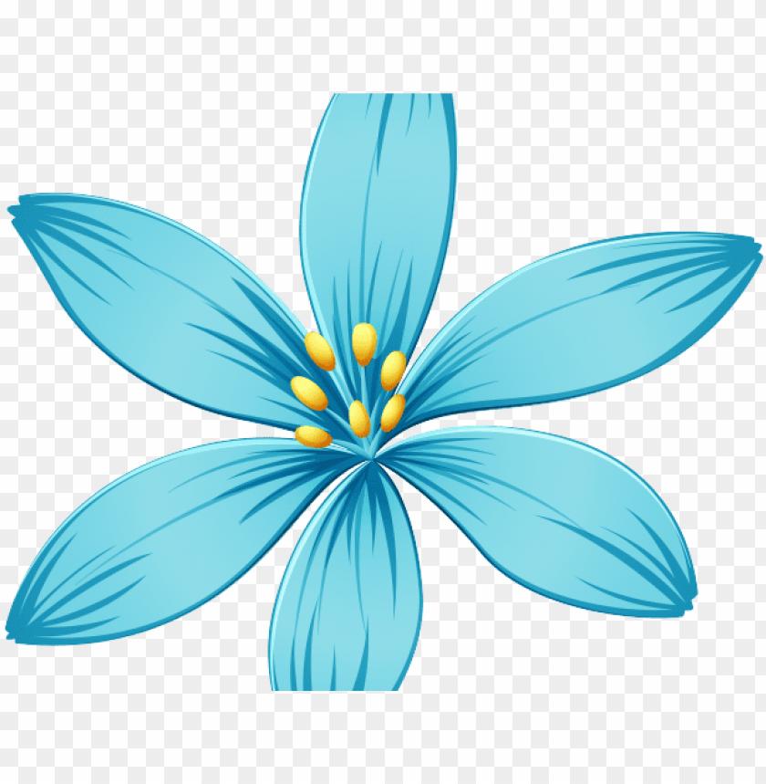 free PNG blue flower clipart blue jasmine - transparent background blue flower clipart PNG image with transparent background PNG images transparent