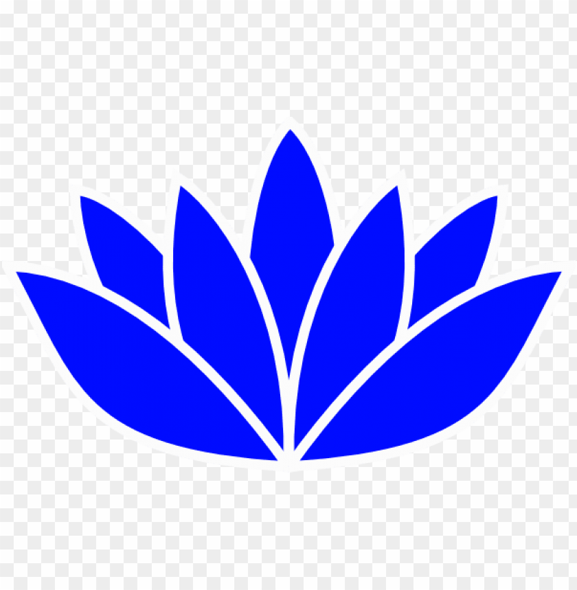 free PNG blue flower clipart blue lotus - blue lotus flower PNG image with transparent background PNG images transparent