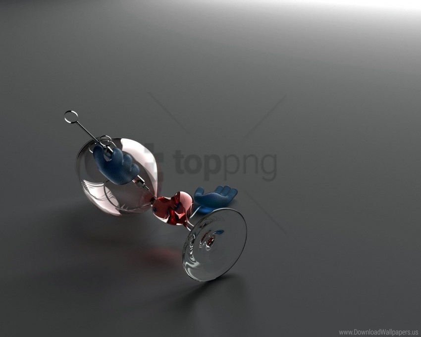 free PNG blue, glass, heart, red, wine glass wallpaper background best stock photos PNG images transparent