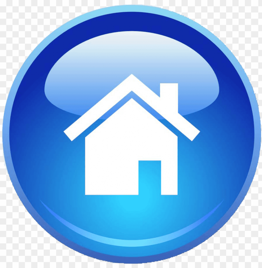 blue home page icon png icon png button home png image with transparent background toppng icon png button home png image with