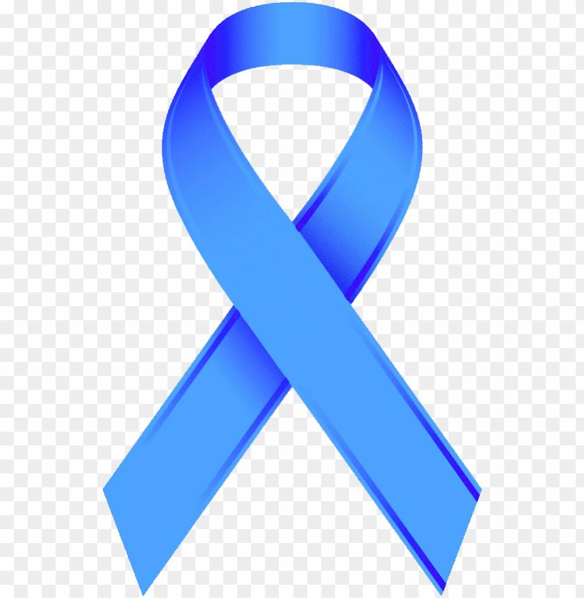 Blue Ribbon Png Hd Adhd Awareness Ribbon Png Image With