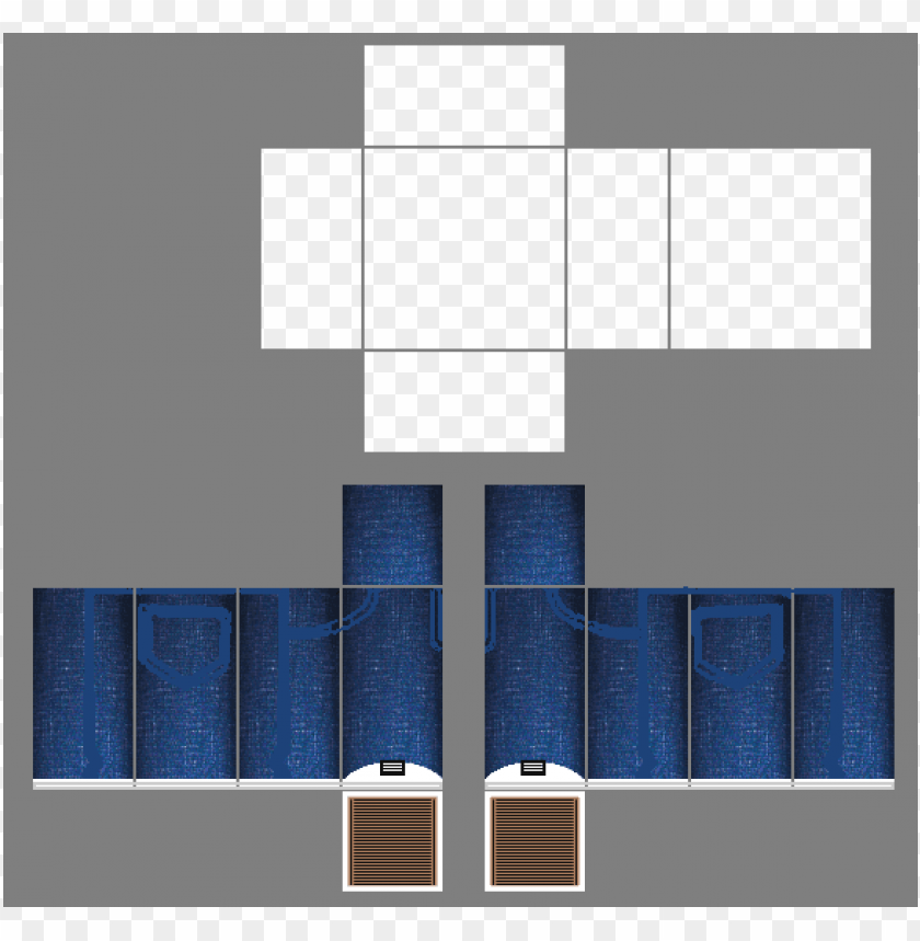 Blue Roblox Pants Template 36679 Awesome Roblox Pants Template
