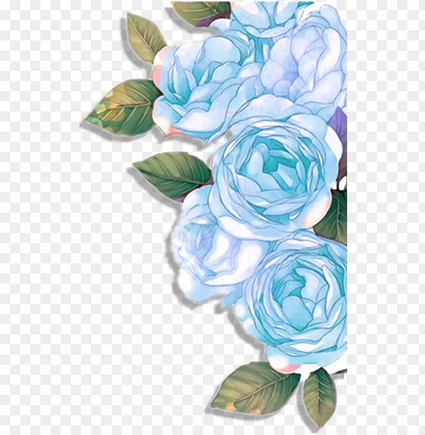 free PNG blue roses floral design flower flowers - flowers roses blue PNG image with transparent background PNG images transparent