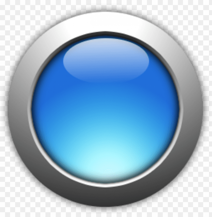 free PNG blue round button PNG image with transparent background PNG images transparent
