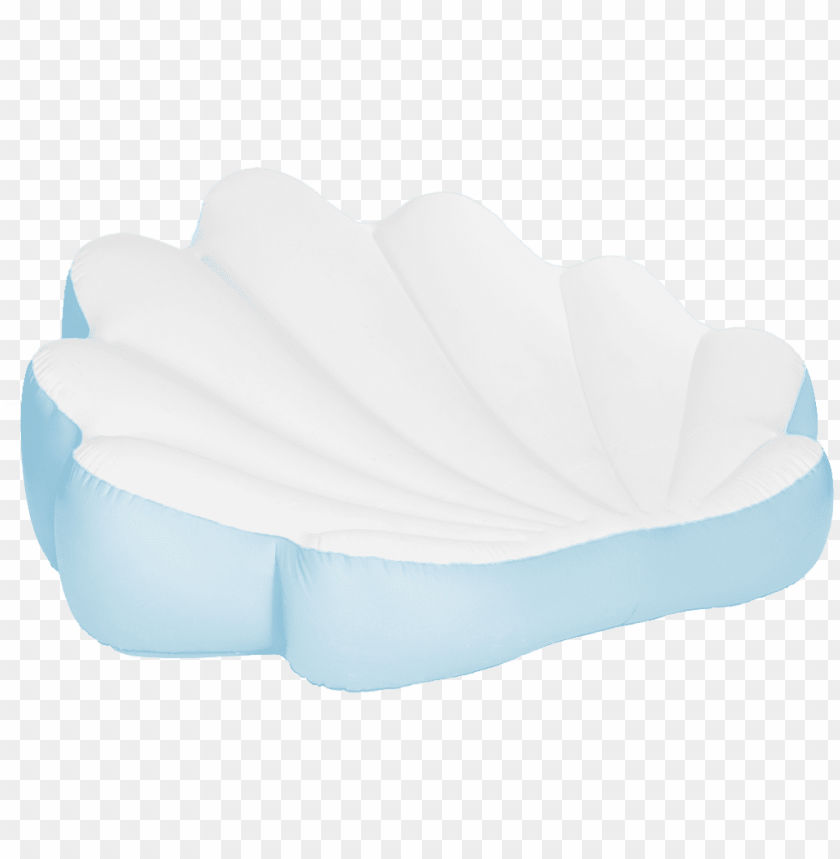 free PNG blue seashell float - intex seashell pool float with inflatable pearl PNG image with transparent background PNG images transparent