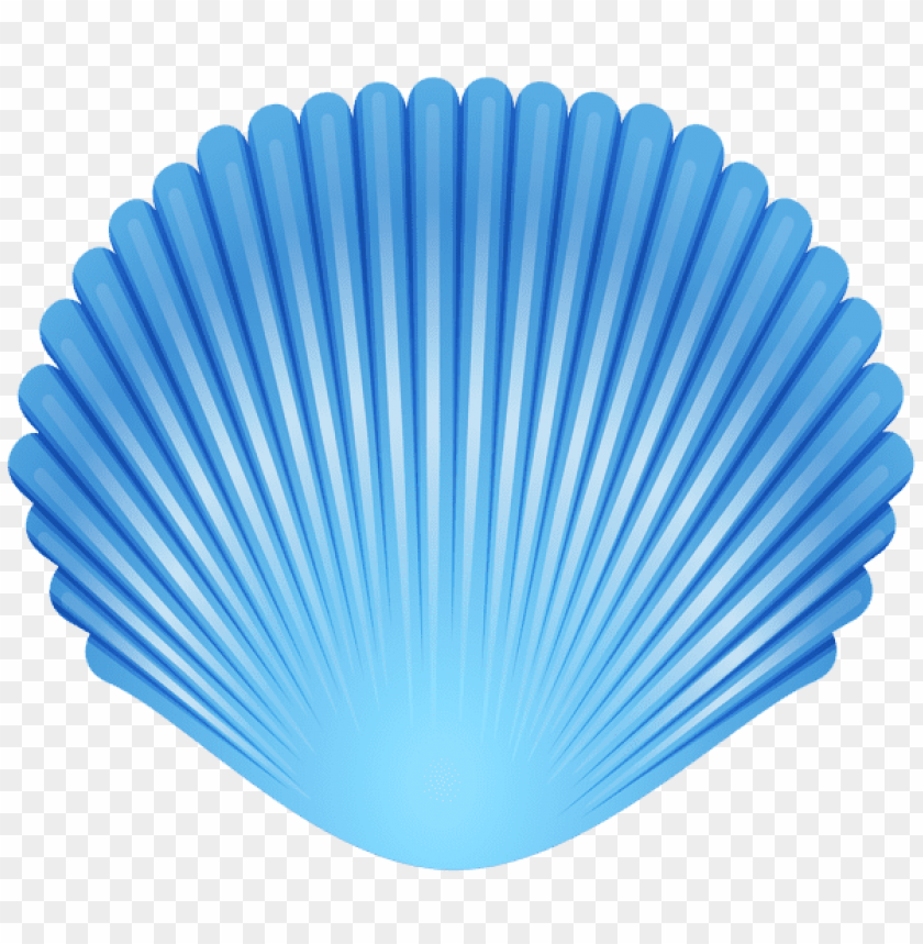free PNG Download blue seashell transparent clipart png photo   PNG images transparent
