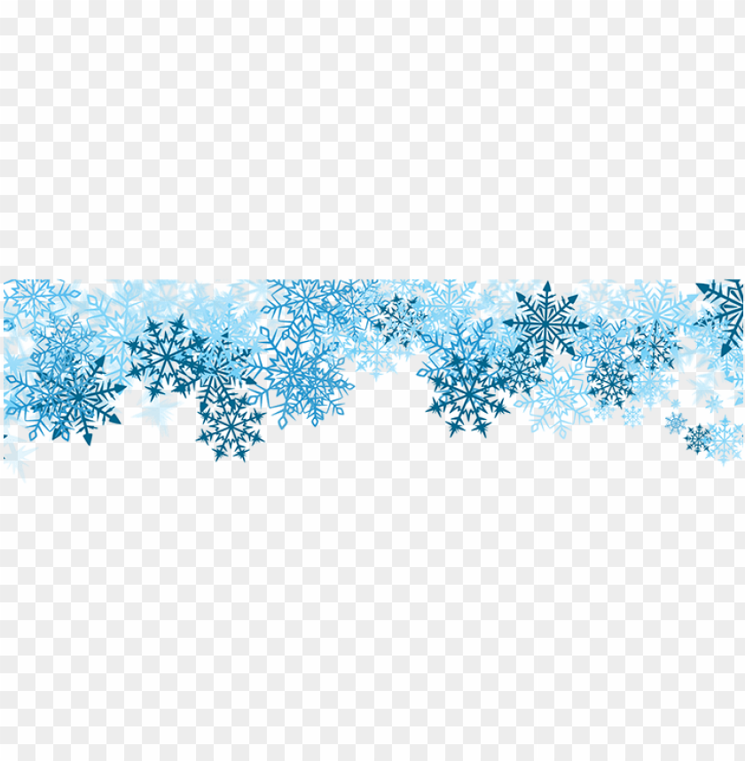 snowflake border transparent png  download hd vacation