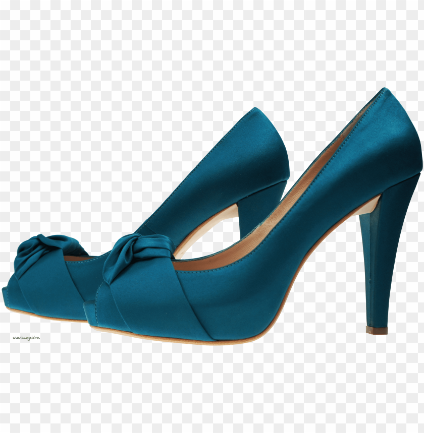 free PNG blue women shoe png - Free PNG Images PNG images transparent