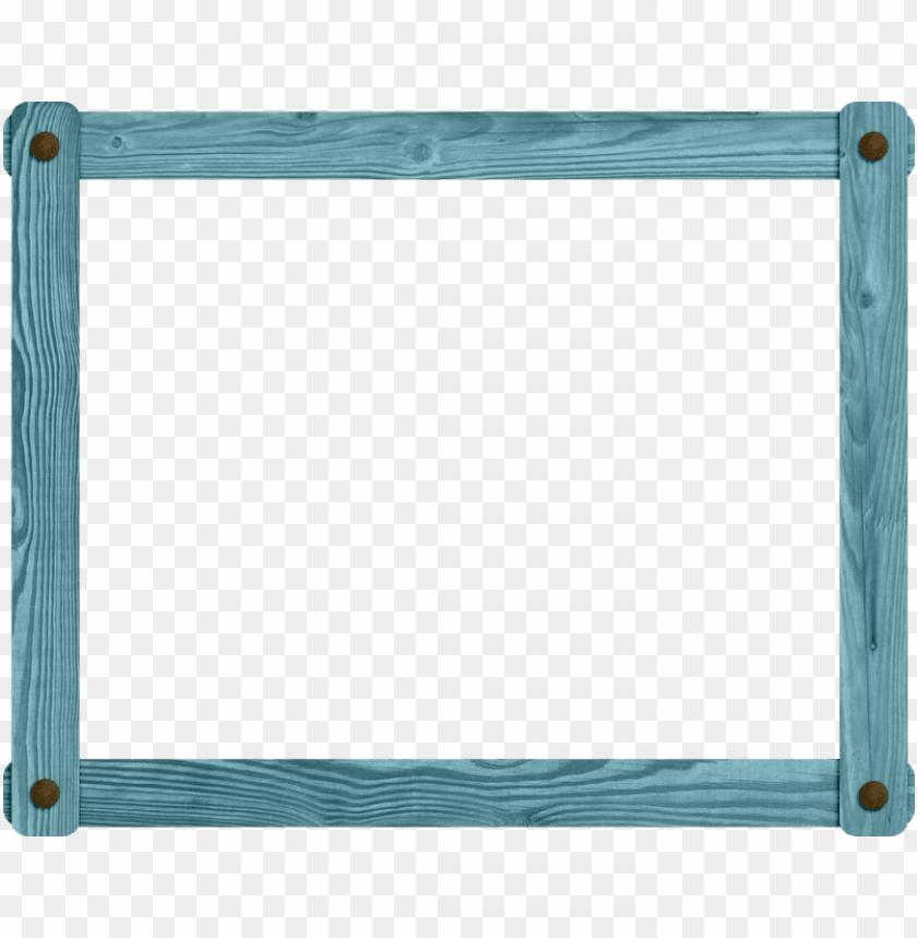 free PNG blue wood ~~j - blue wood frame PNG image with transparent background PNG images transparent