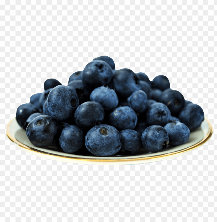 free PNG Blueberries on Plate png - Free PNG Images PNG images transparent