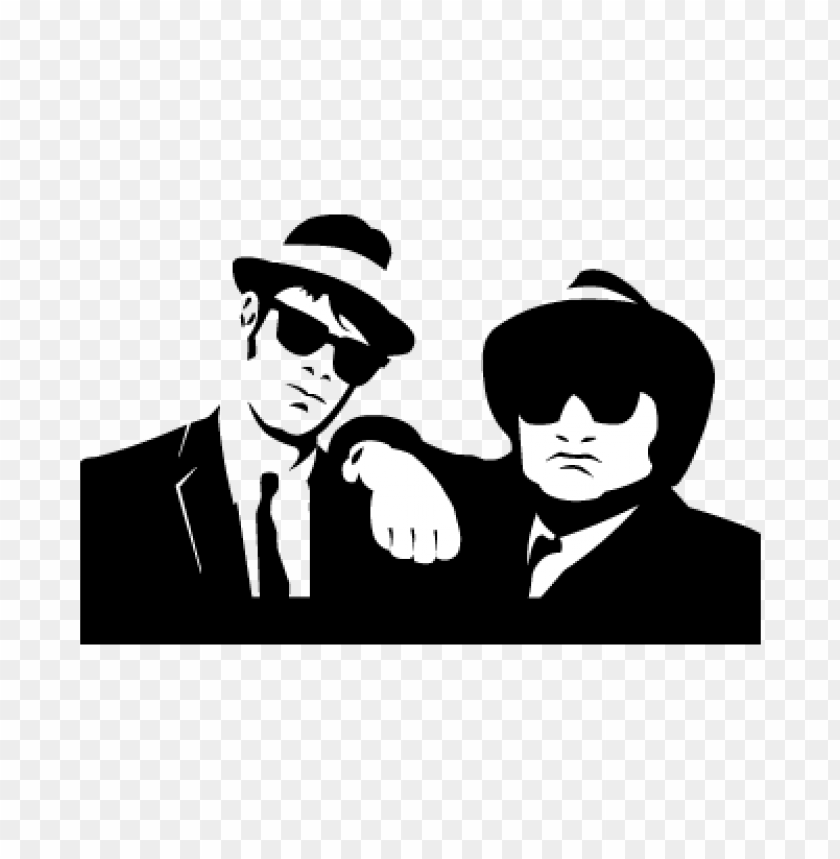 free PNG blues brothers bn vector logo PNG images transparent