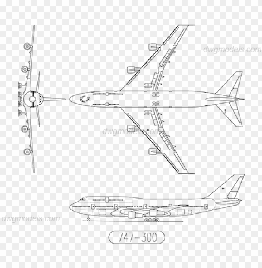 free PNG boeing 747 300 drawing PNG image with transparent background PNG images transparent