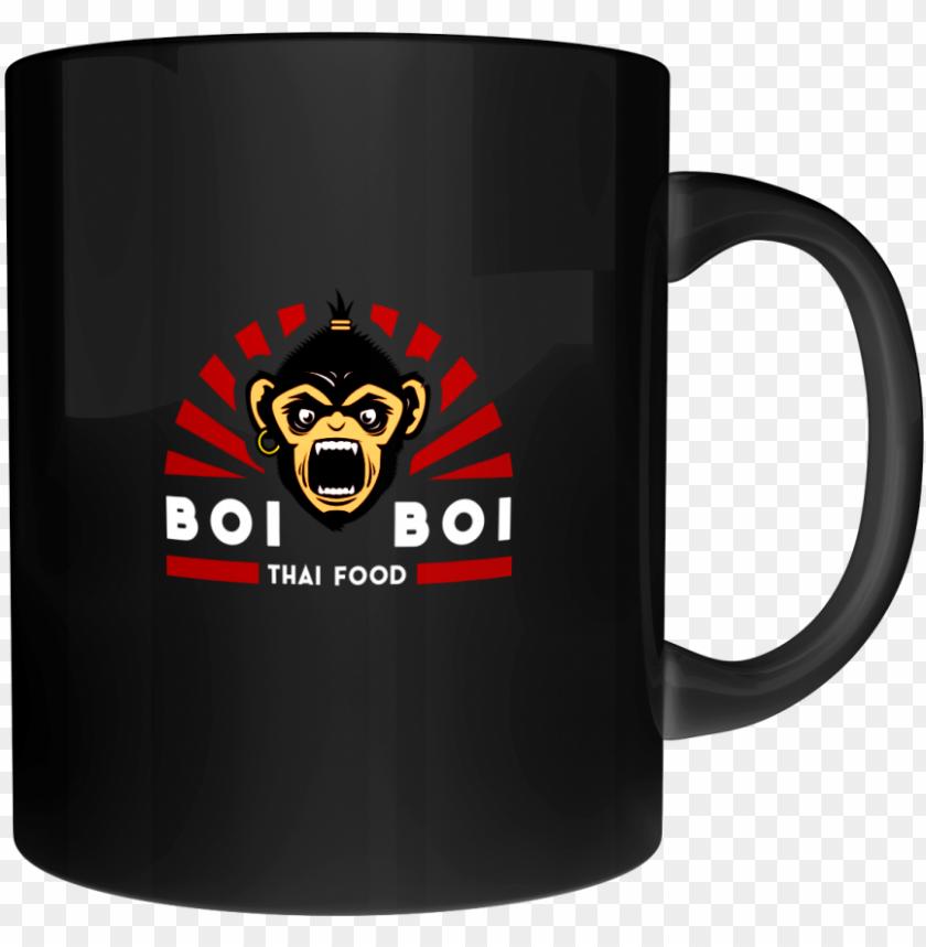 free PNG boi boi full logo mug black PNG image with transparent background PNG images transparent