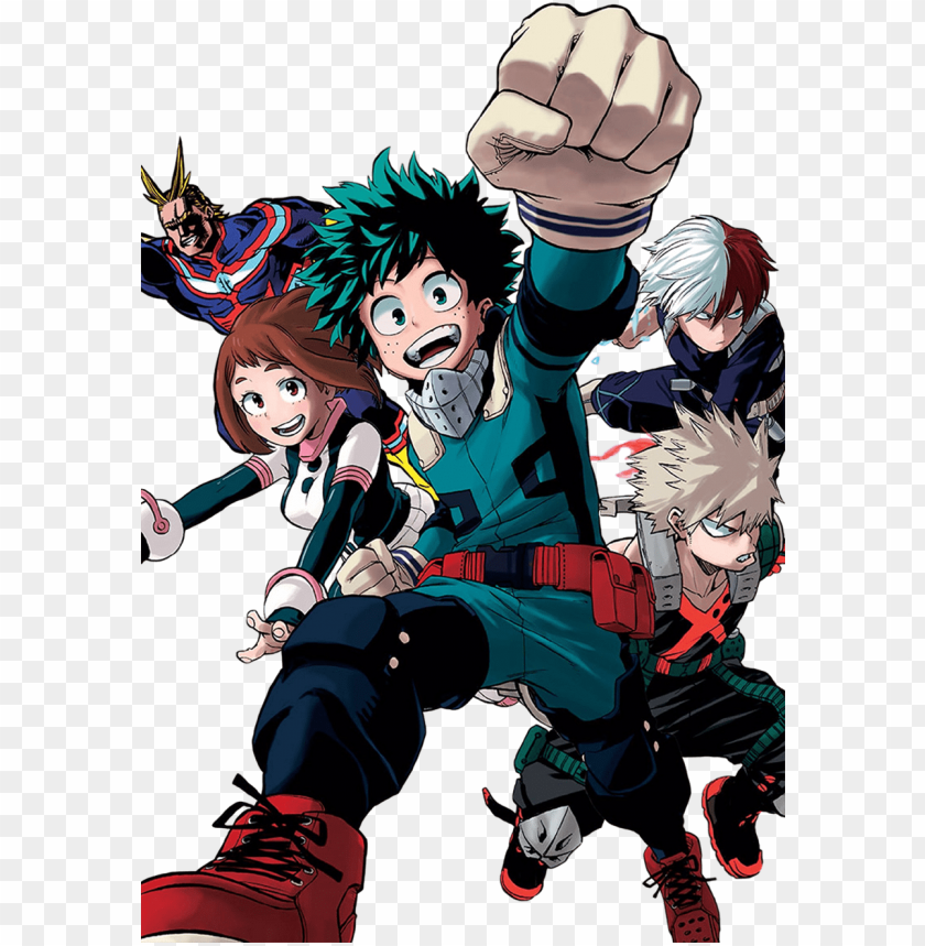 free PNG boku no hero academia - - boku no hero academia render PNG image with transparent background PNG images transparent