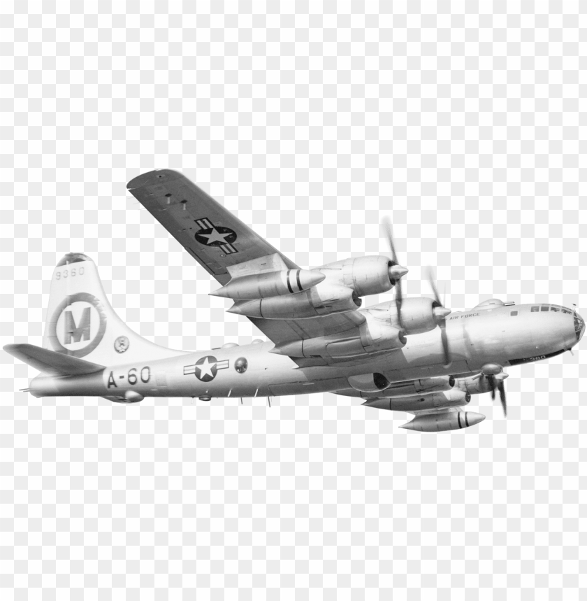 free PNG bomber plane png clip black and white stock - boeing b-29 superfortress PNG image with transparent background PNG images transparent