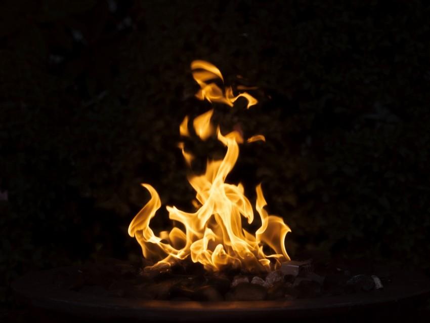 free PNG bonfire, fire, dark, flame, burning background PNG images transparent